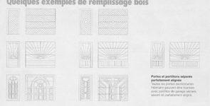 Demazy Max - Portes sectionnelles en acier pour remplissage bois et isolation